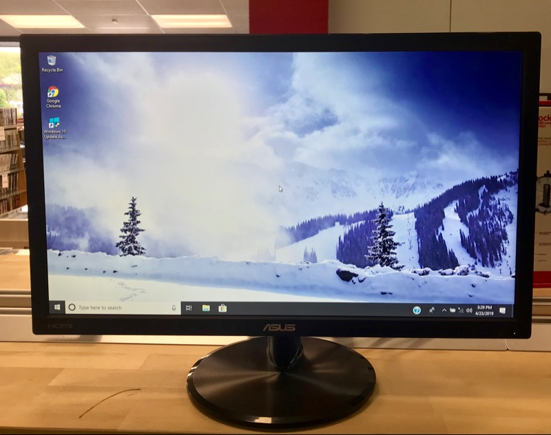 ASUS VP228H Gaming Monitor 21 5-inch FHD 1920x1080 1ms Low