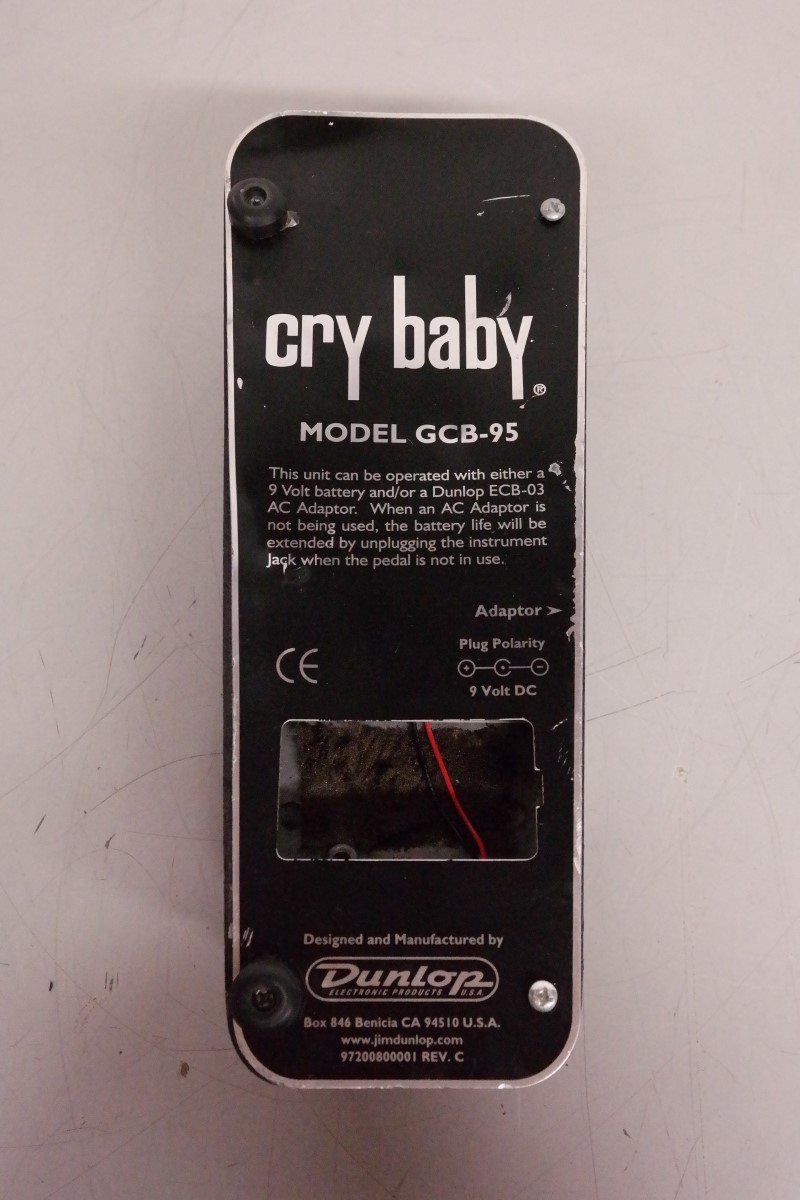 Cry Baby Gcb 95 : dunlop cry baby gcb 95 wah pedal good buya ~ Russianpoet.info Haus und Dekorationen