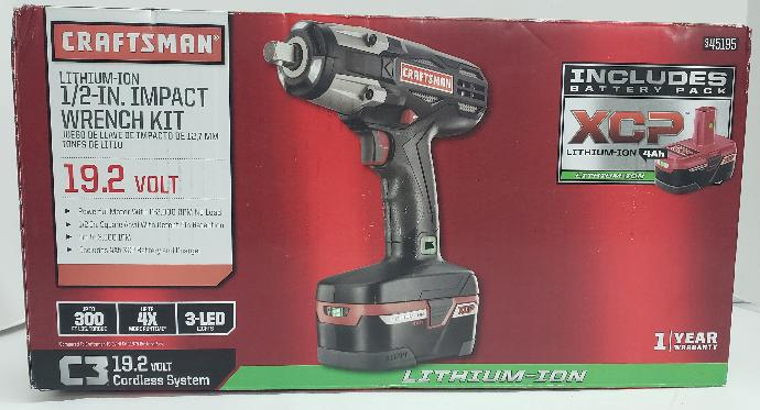 Craftsman Impact Wrench Driver 945195