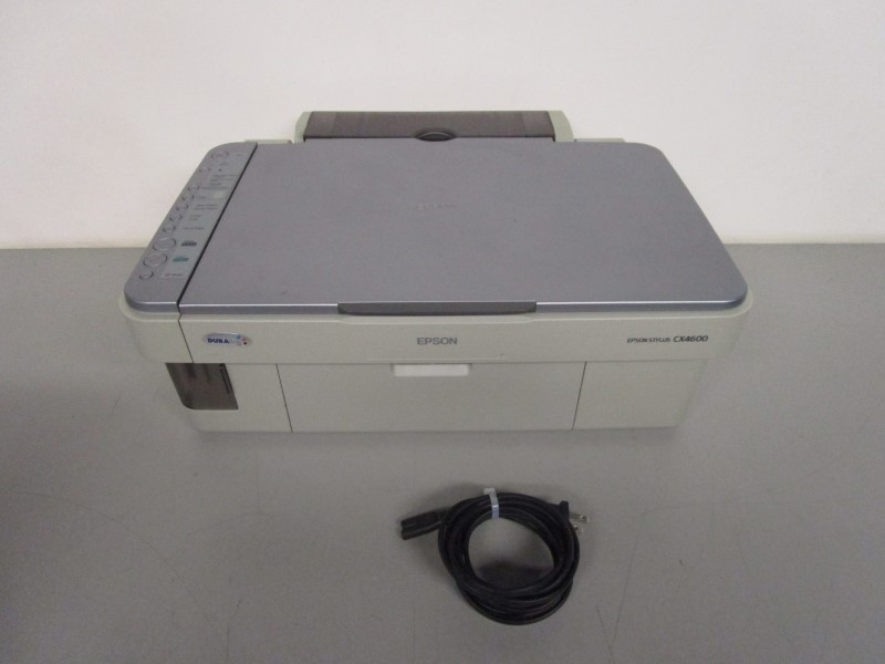 LOCAL PICKUP ONLY: EPSON STYLUS CX4600 ALL-IN-ONE PRINTER Very Good