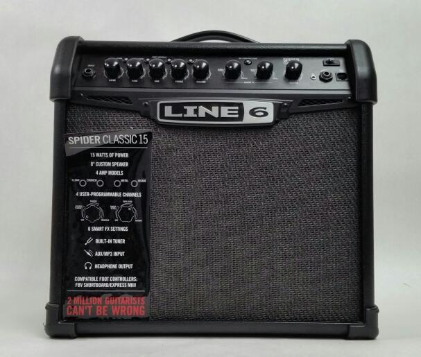 Line 6 Spider Classic 15 Guitar Amplifier Good | Heartland