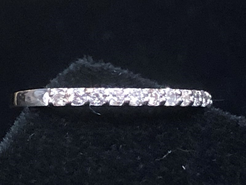 ced392353835c 10K White Gold .25ctw Diamond Anniversary Band Style Ring Eternity ...