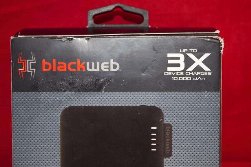 Blackweb Fast Wireless Charging Portable Battery 10000- BWB18WI109