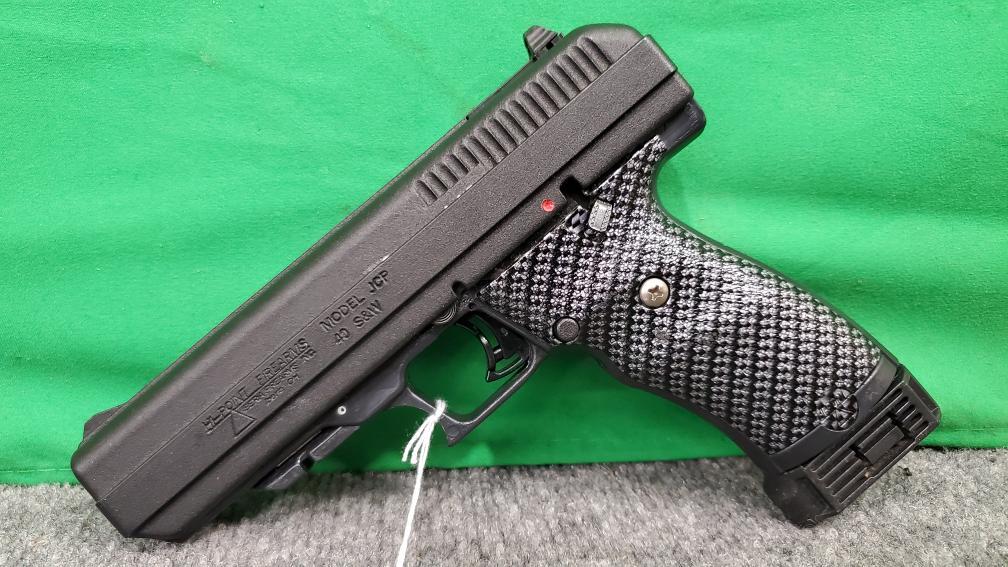 Hi Point JCP 40 S&W Pistol w/ Carbon Fiber Grips Very Good
