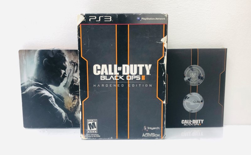 Sony PlayStation 3 Game Call Of Duty Black Ops II Hardened