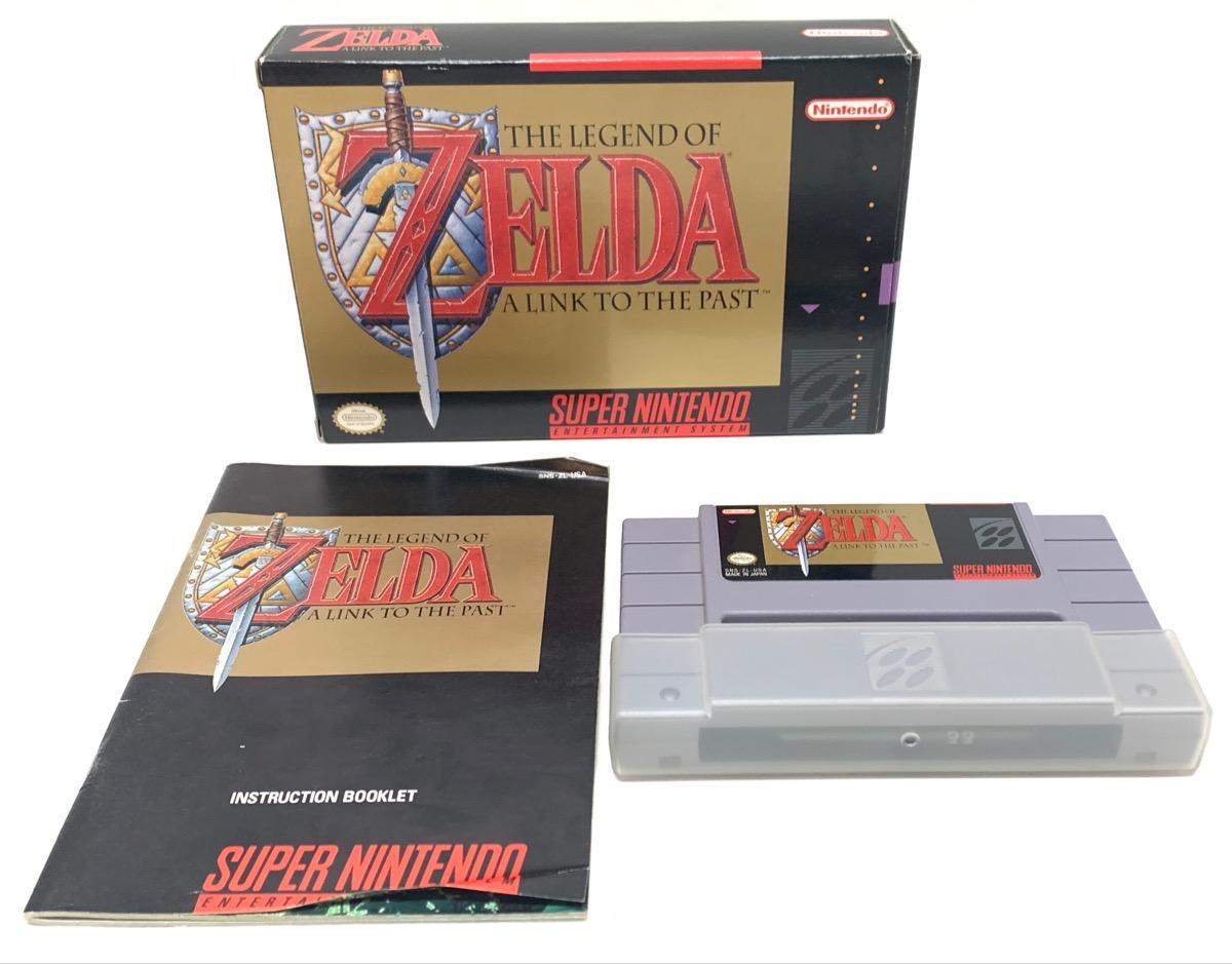 Nintendo SNES The Legend Of Zelda A Link To The Past Good