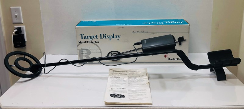 Radio Shack Metal Detector 63-3007 Like New | Liberty Pawn & Gold