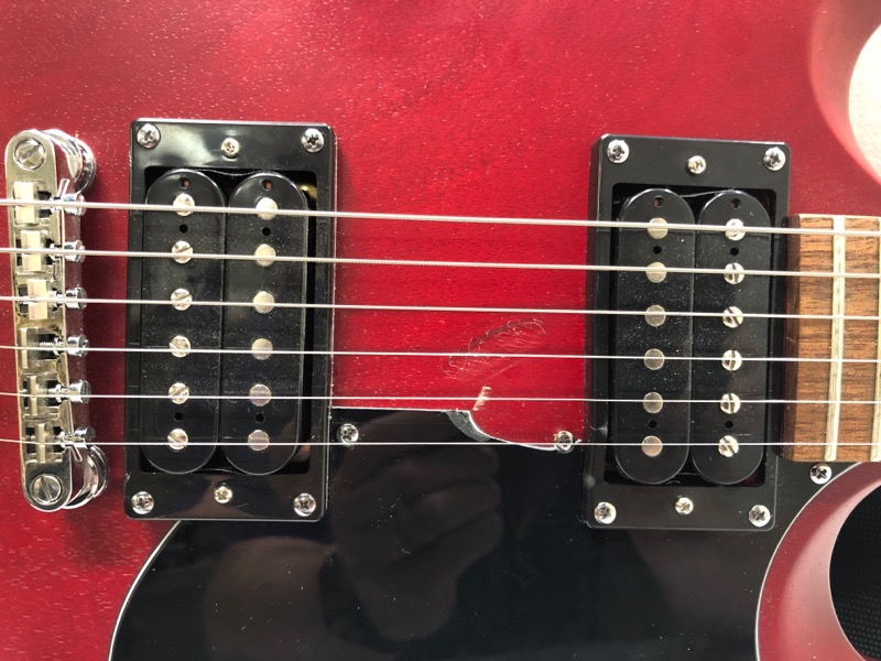 epiphone sg special ve 6 string electric guitar vintage worn cherry vwc red acceptable. Black Bedroom Furniture Sets. Home Design Ideas