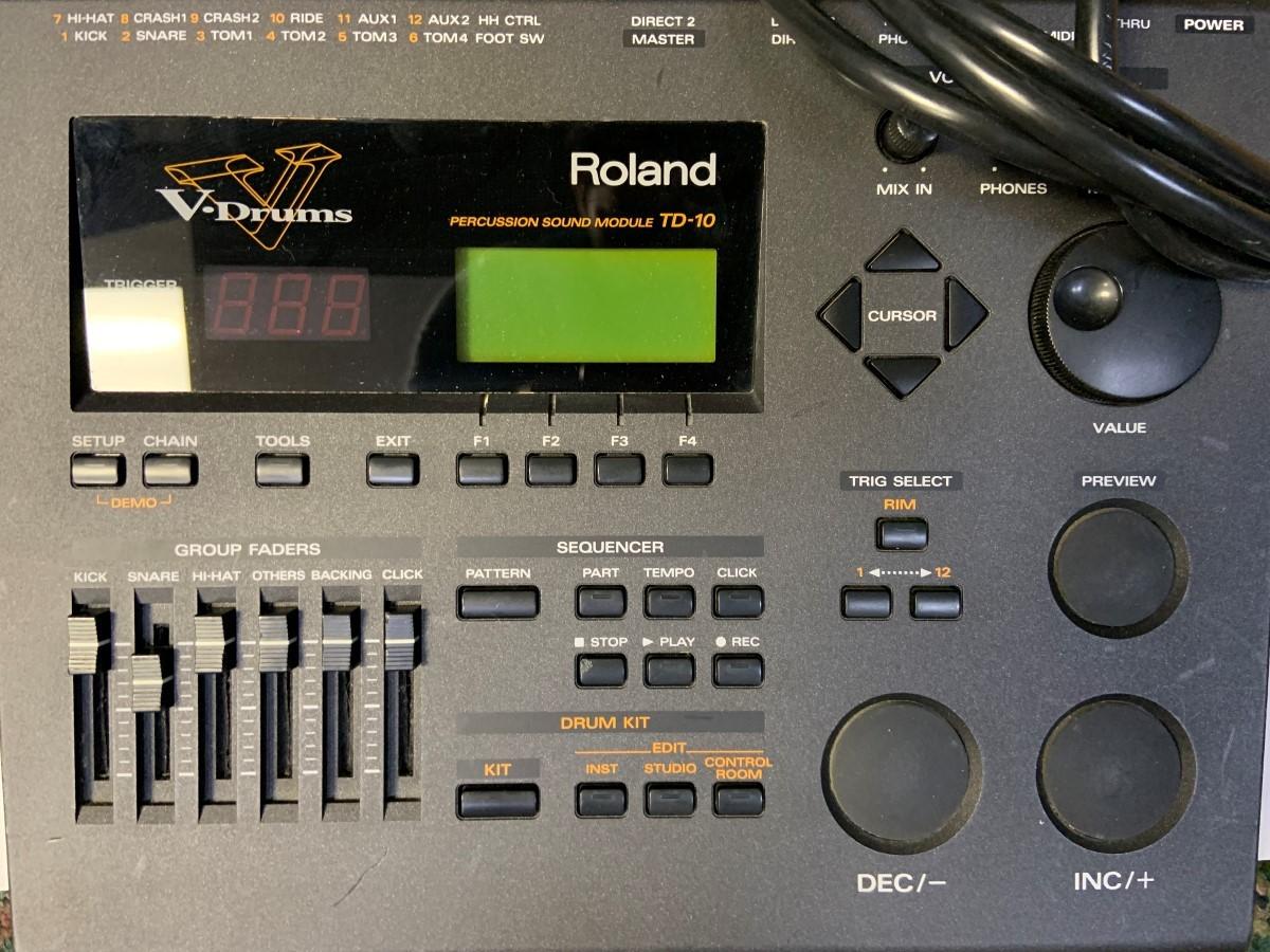 roland td 30 drum sound module good buya. Black Bedroom Furniture Sets. Home Design Ideas