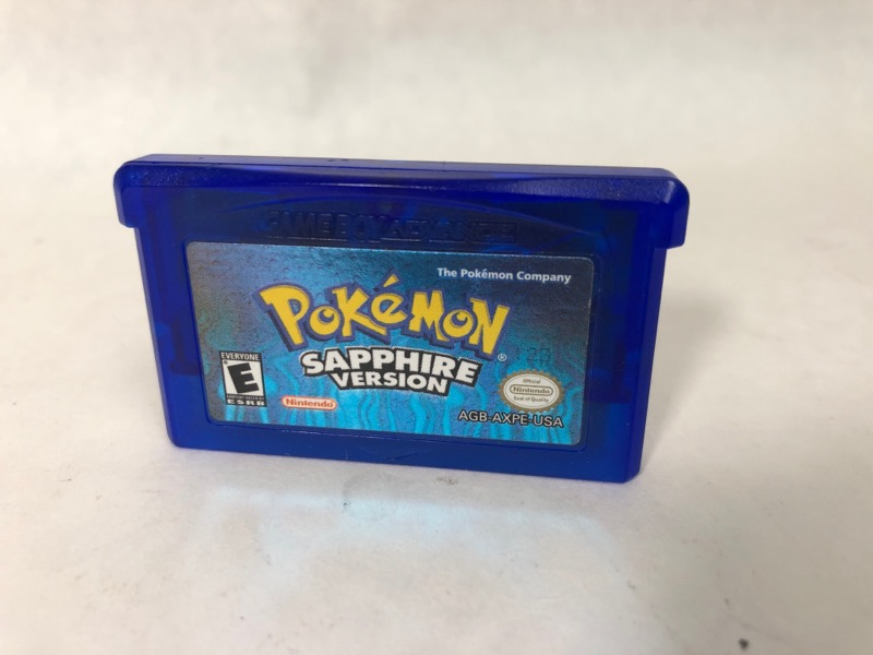 pokemon sapphire game