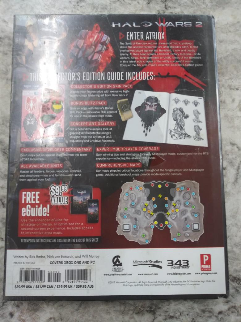 HALO WARS 2 STRATEGY GUIDE, GET THE GREAT INSITES AND TRICKS