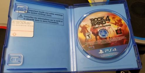 Rock Band 4 OEM Band in a Box Bundle Wireless Guitar Drums