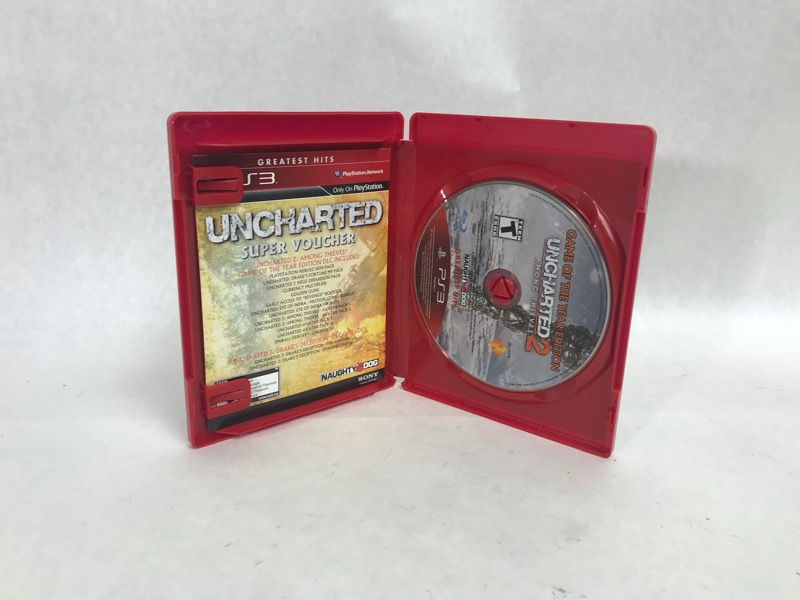 Uncharted Dual Pack for Playstation 3 - Greatest Hits Very