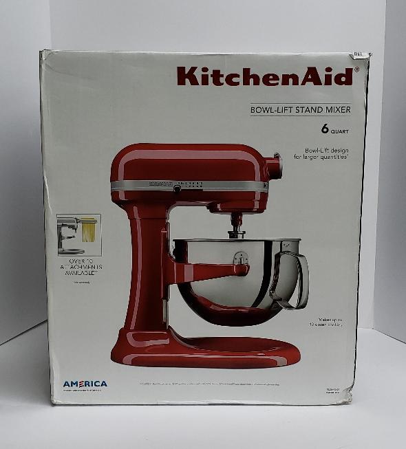 BRAND NEW KitchenAid KL26M1XER Professional 6-Qt. Bowl-Lift Stand Mixer -  RED