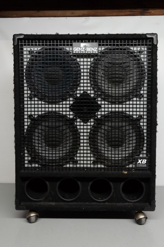 Genz Benz Gb 410t Xb 4x10 Bass Cabinet Local Pickup Only Good