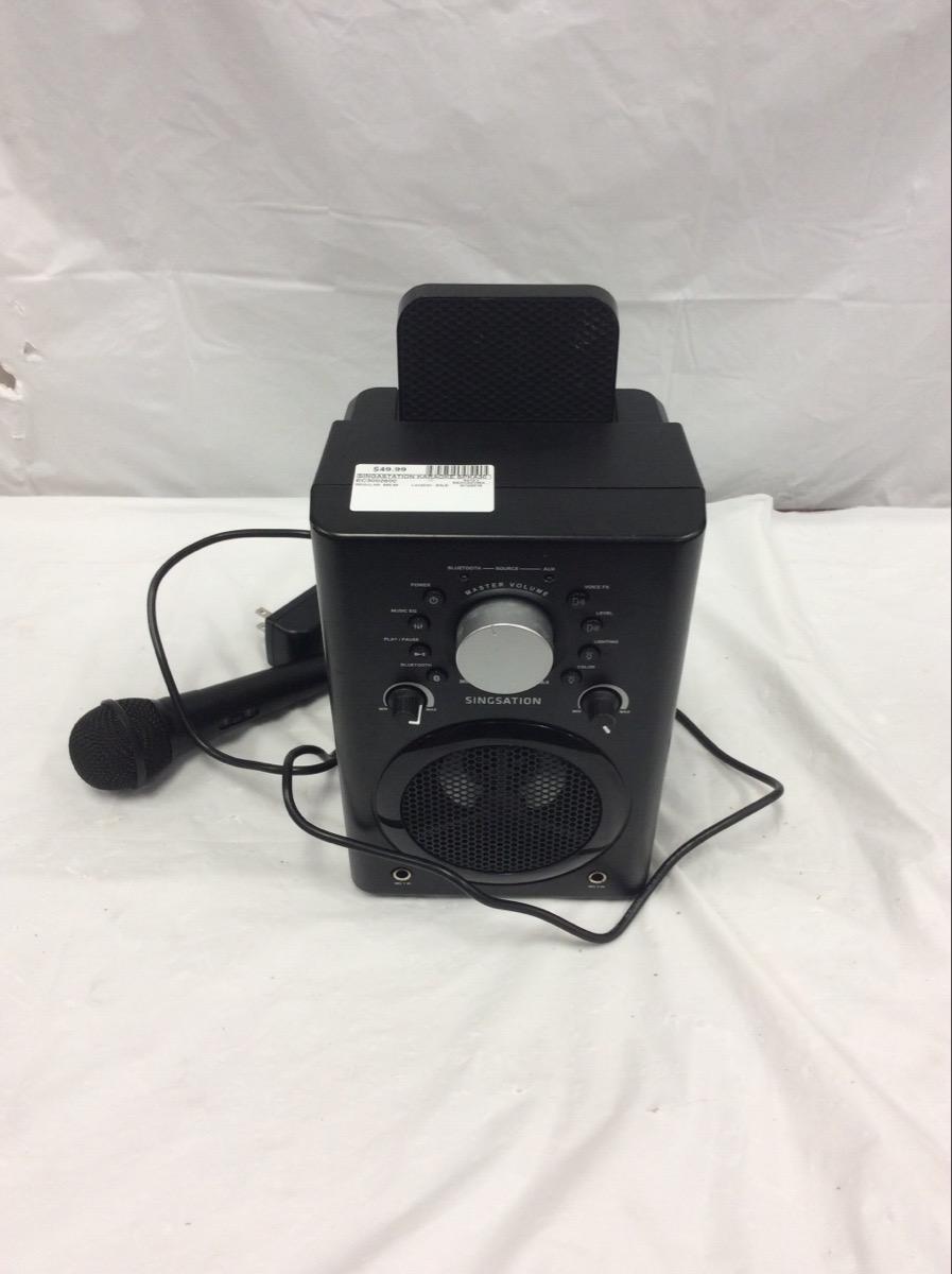 SINGASTATION Karaoke Machine SPKA30 Like New   Extra Cash ...