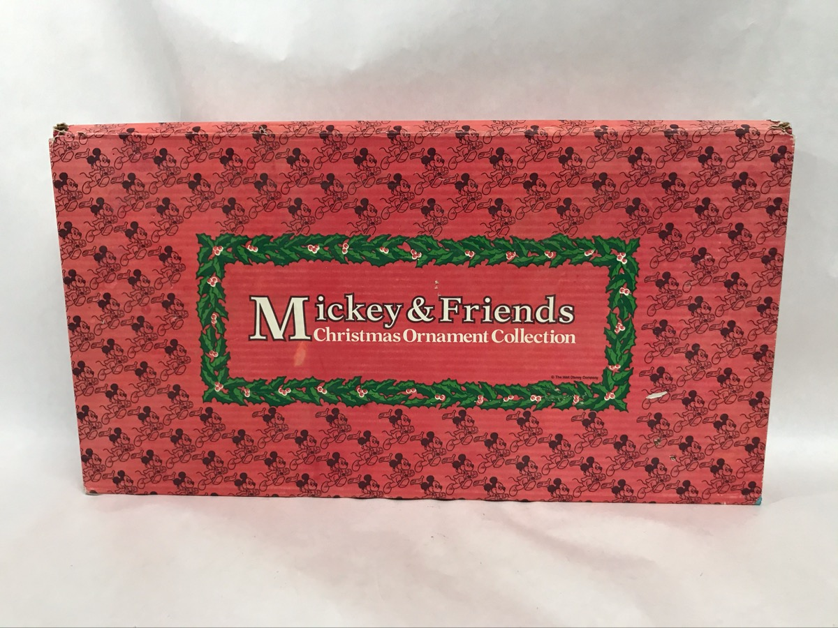 Mickey & Friends Christmas 13 Pc. Ornament Collection ...