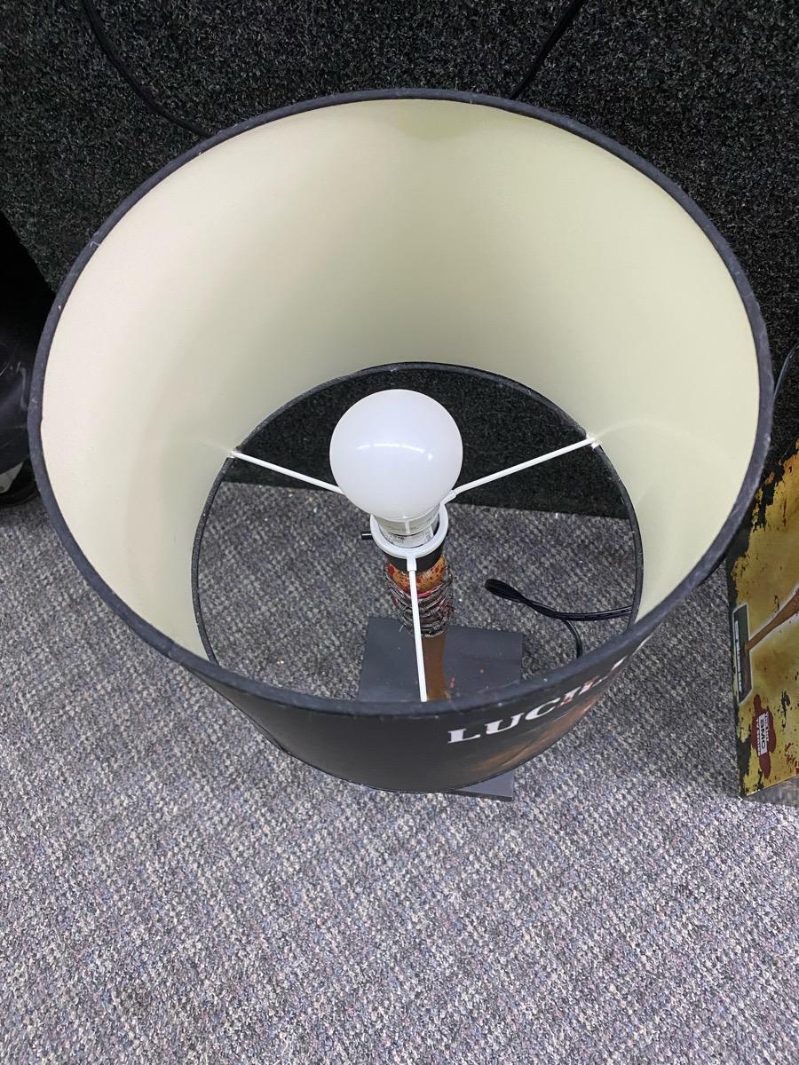 Amc The Walking Dead Table Lamp Negan Amp Lucille Like New